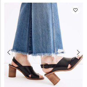 Madewell Ruthie Crisscross Sandals
